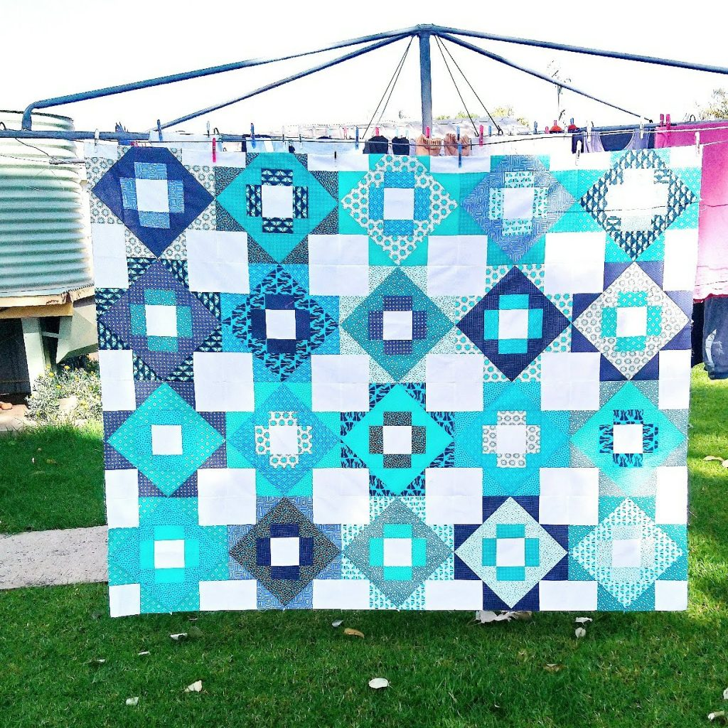 Meadowland quilt top