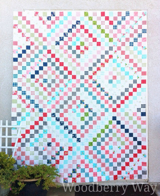 Scrappy Trip Quilt by Woodberry Way