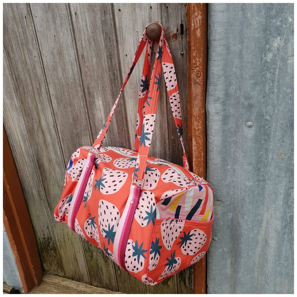 Stacks On Duffle Original by Little Moo Designs